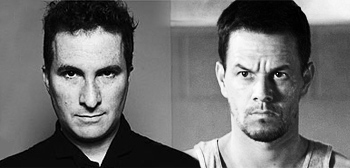 Darren Aronofsky and Mark Wahlberg