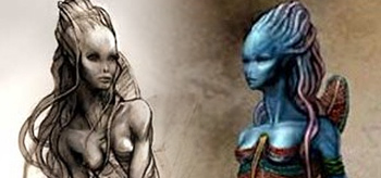 Beautiful Na'vi Concept Art from James Cameron's Avatar!