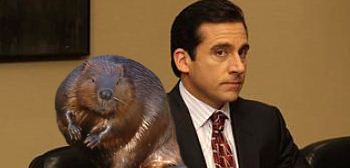 Steve Carell's Funky New Project - The Beaver!
