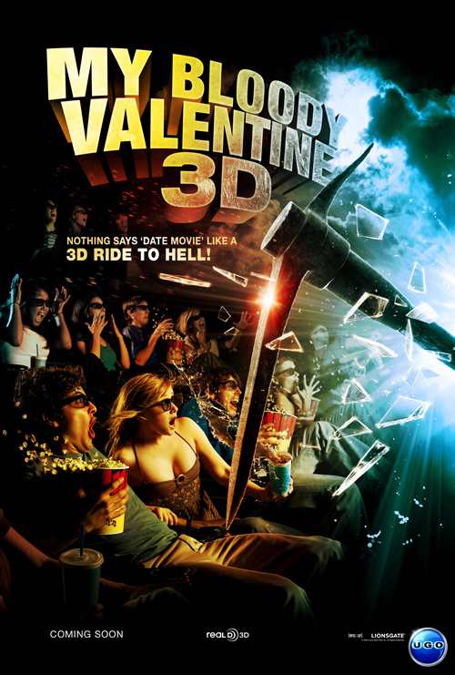 my bloody valentine 3 d poster - Valentine Full Movie