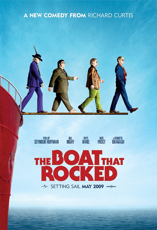 The Boat That Rocked Poster