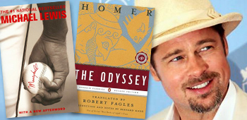 Brad Pitt's Double Bill: The Odyssey and Moneyball