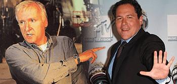 James Cameron and Jon Favreau