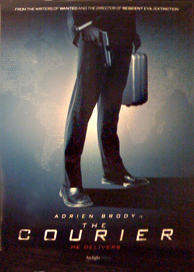 The Courier Poster