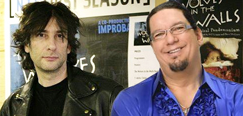 Neil Gaiman and Penn Jillette