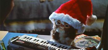 Gizmo on Christmas