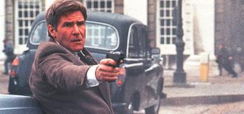 Harrison Ford as Jack Ryan