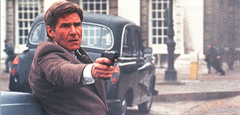 Harrison Ford as Jack Ryan