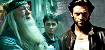 Harry Potter and Wolverine