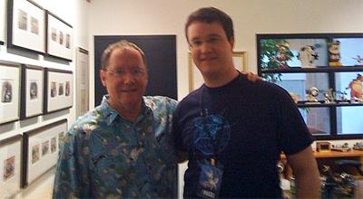 John Lasseter and Alex Billington