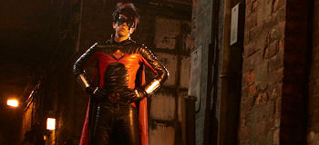 First Look: Christopher Mintz-Plasse as Red Mist in Kick-Ass
