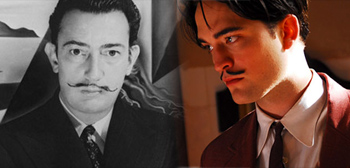 First Look: Robert Pattinson as Salvador Dalí in Little Ashes