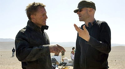 Daniel Craig and Marc Forster