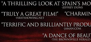 We're Quoted on the Poster for The Matador!