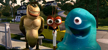 Monsters vs Aliens Trailer