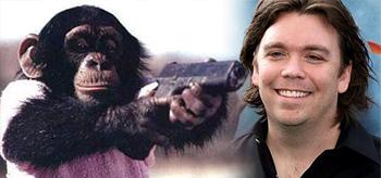 Kevin Munroe Helming War Monkeys for Dark Horse Indie