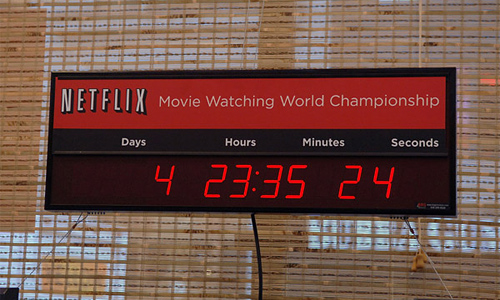 Netflix World Movie Watching Championships