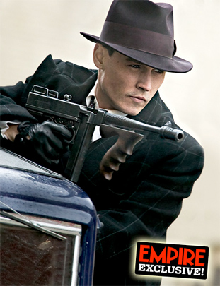 johnny depp public enemies hairstyle. Public Enemies.