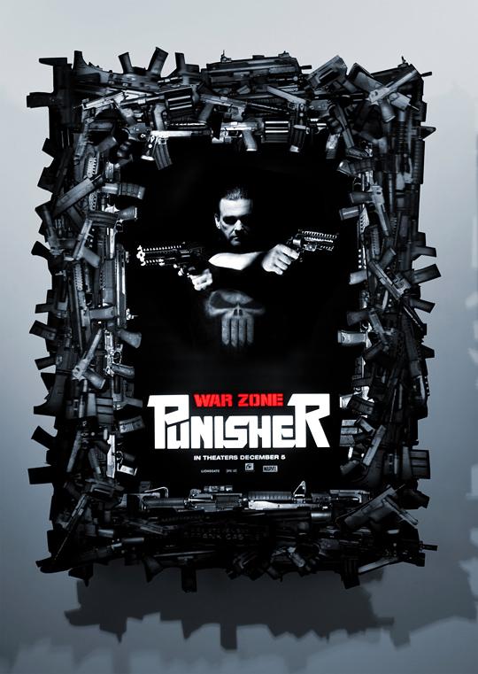 Punisher: War Zone Lenticular Poster