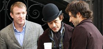 First Look: Robert Downey Jr. in Guy Ritchie's Sherlock Holmes
