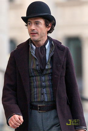 Robert Downey Jr. in Guy Ritchie's Sherlock Holmes
