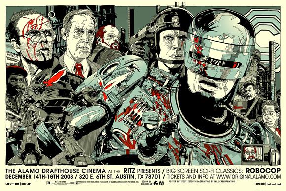 Tyler Stout's RoboCop Poster