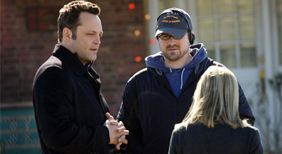 Seth Gordon on the Four Christmases set