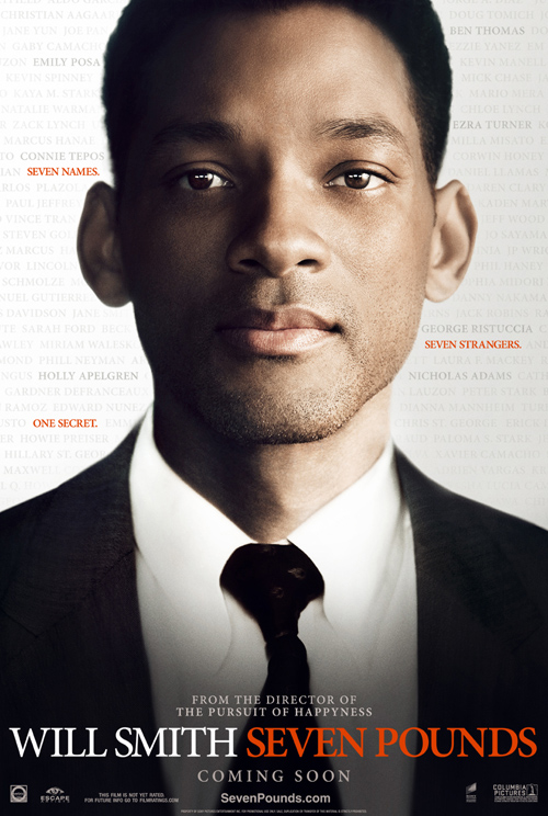 Seven Pounds Poster
