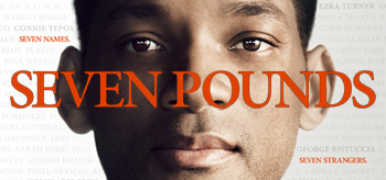 Will Smith's Seven Pounds Official Poster