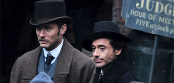 New Set Photos from Guy Ritchie's Sherlock Holmes