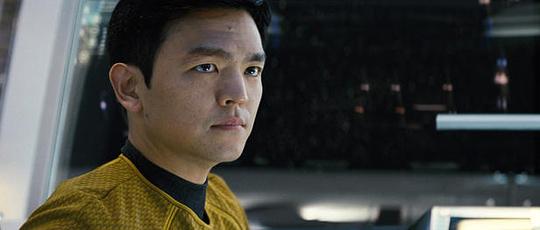 John Cho as Sulu in Star Trek
