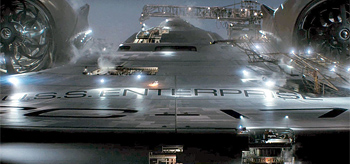 J.J. Abrams' New USS Enterprise Fully Revealed!