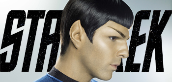 Zachary Quinto as Spock in Star Trek