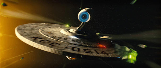 USS Kelvin in Star Trek