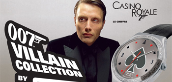 Check This Out: Swatch's 007 Villain Collection Watches