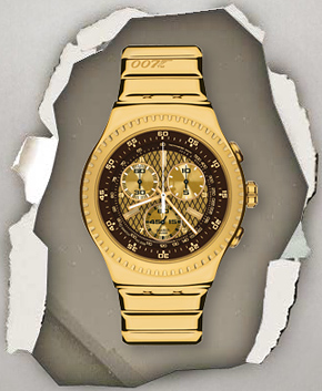 Swatch's 007 Villain Collection - Goldfinger