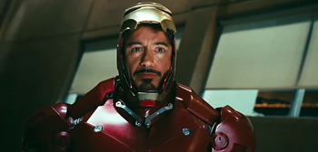 Tony Stark in Iron Man