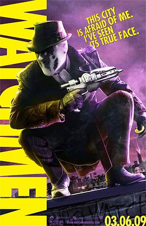 Watchmen - Rorschach Poster