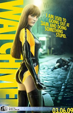Watchmen - Silk Spectre Poster