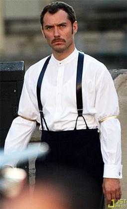 Jude Law as Dr. Watson in Sherlock Holmes
