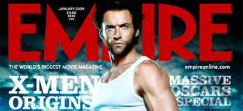 Empire's New X-Men Origins: Wolverine Cover Shot!